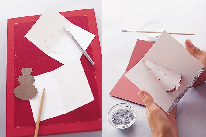 объемные рождественские открытки своими руками