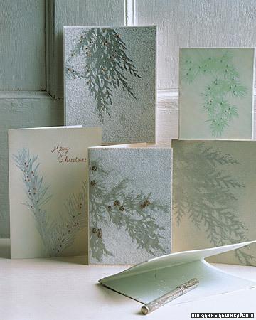 самодельные рождественские открытки
