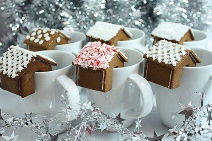 фото Рождественские примеры пряничных домиков