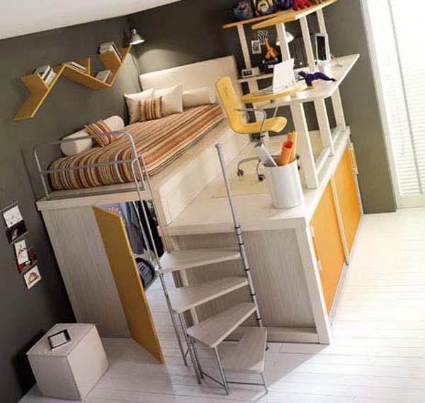 детские комнаты маленькие