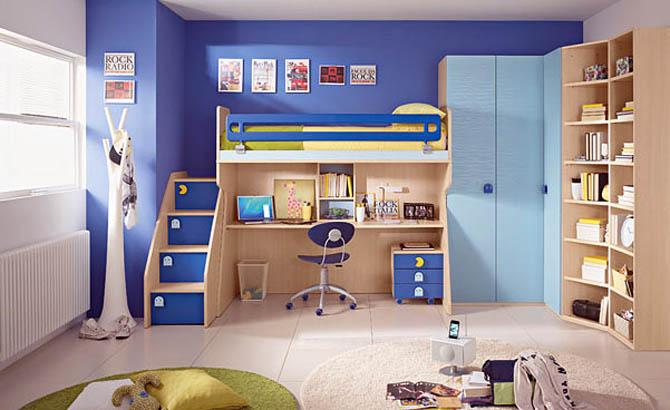 маленькие детские комнаты фото