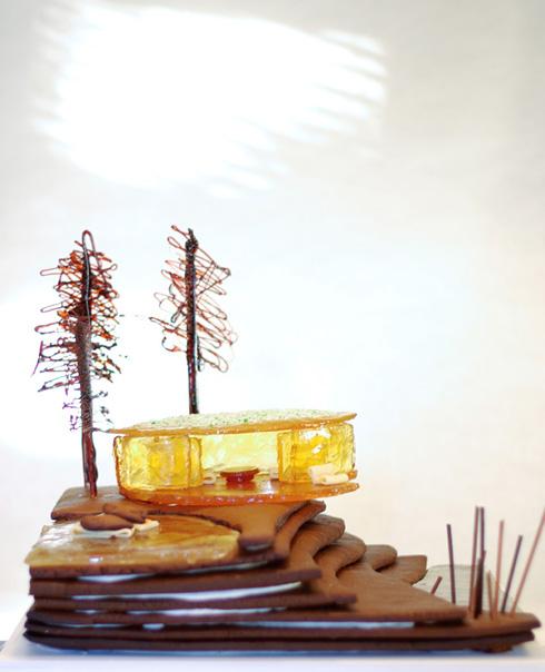 пряничные домики своими руками фото