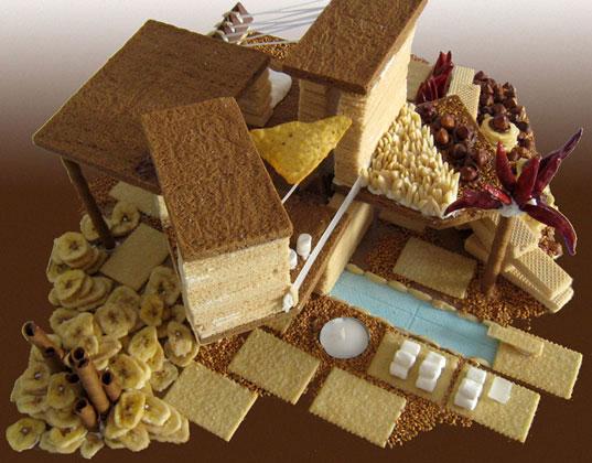 примеры пряничных домиков