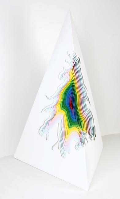 скульптура из бумаги