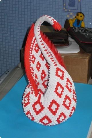 оригами лебедя можно и без