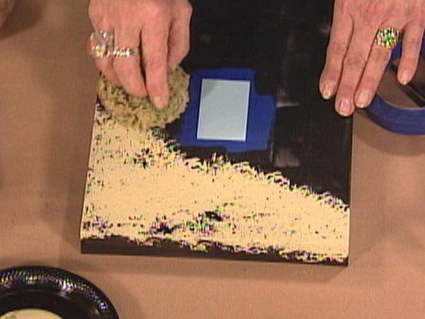 Закрашиваем рамку в песочный цвет