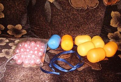 Поделки из яиц от киндер сюрприза