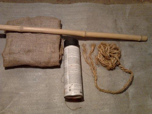 Материалы необходимые для изготовления фоторамки из бамбука