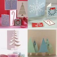 Рождественские открытки своими руками – простые примеры.